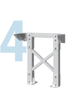Metal Stair Tower Icon