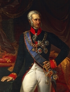 storia della pizza margherita: ritratto di Ferdinando Di Borbone Re di Napoli