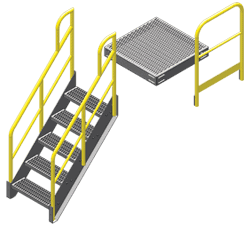 Metal Work Platforms with Effortless Assembly