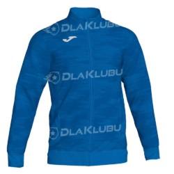 Bluza dresowa zapinana JOMA Grafity niebieska