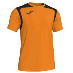 Koszulka piłkarska Champion V pomarańczowo czarna