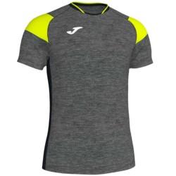 Koszulka piłkarska JOMA Crew III szaro żółta