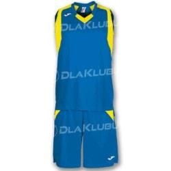 Strój koszykarski JOMA Final niebiesko żółty