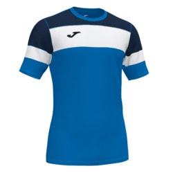 Koszulka piłkarska Joma Crew IV niebiesko granatowa 101534.703