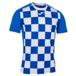 Koszulka piłkarska Joma Flag niebiesko biała 1101465.702