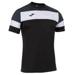 Koszulka piłkarska Joma Crew IV czarno grafitowa 101534.110