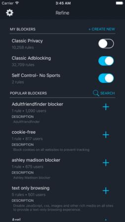 refine security app