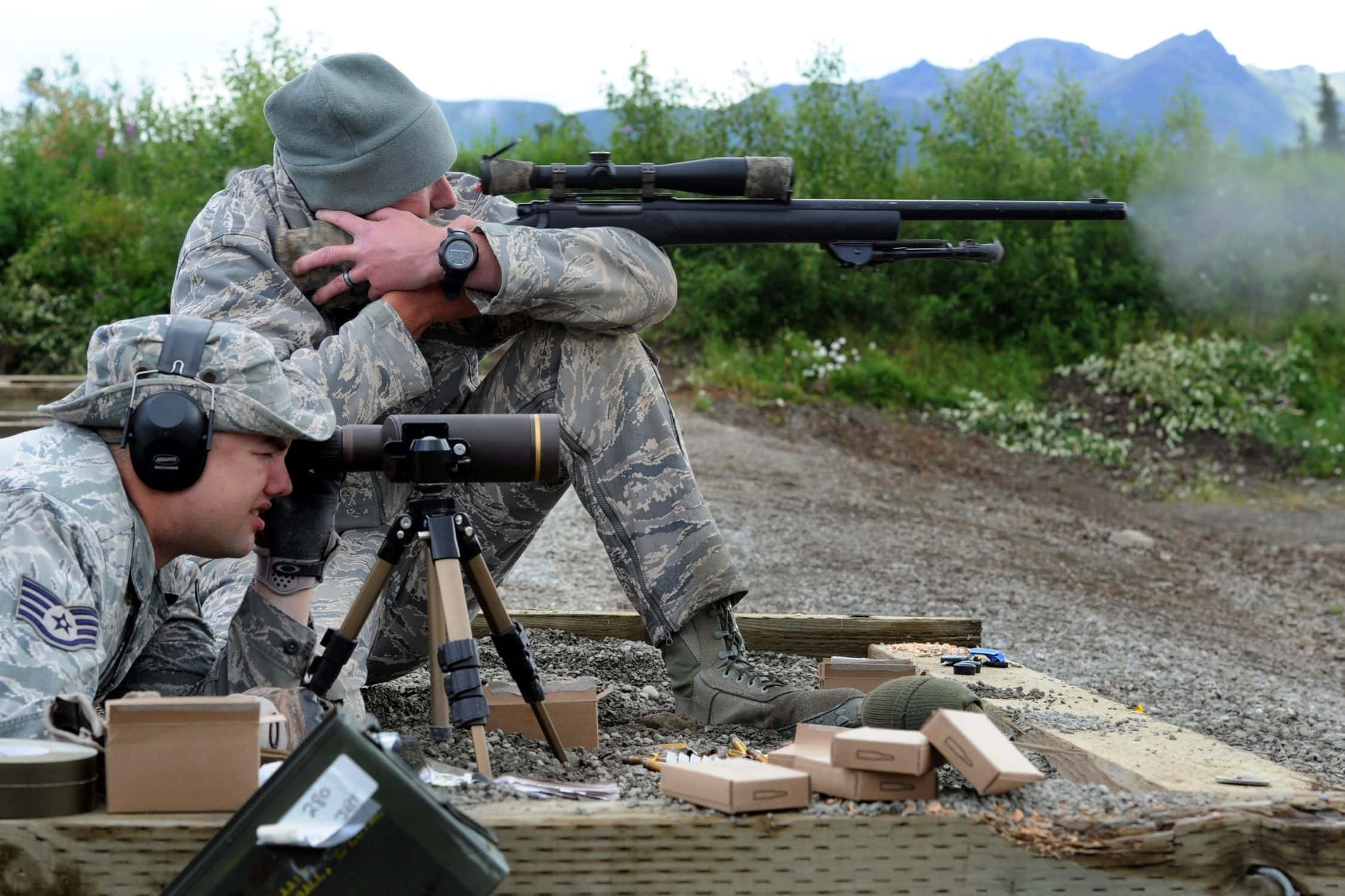 Sniper with Spotter
