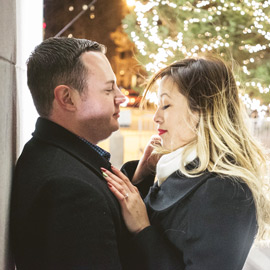 Washington Square Marriage proposal