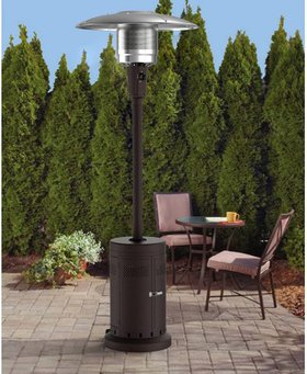 Mainstay Large Patio Heater In Black