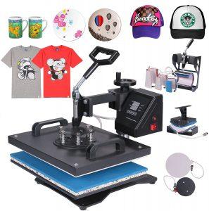 Mophorn Heat Press Machine 12x15 inch T-Shirt Heat Press