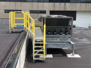 HVAC Crossover Stair Units