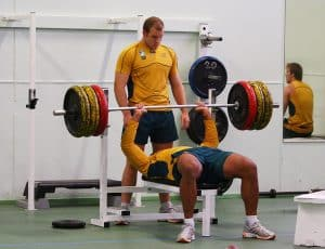 Rugby bench press