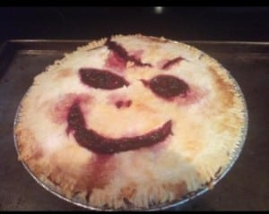 This person who made the creepiest blackberry pie