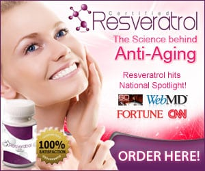 Try 100% Pure Certified Resveratrol Today