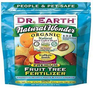 Dr. Earth 708P Organic 9 Fruit Tree Fertilizer