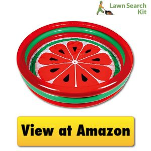 3-Ring Pool Watermelon Style toddler inflatable pool