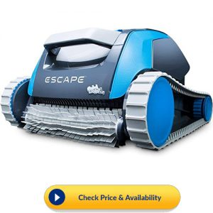 Dolphin Escape Robotic Above Ground Pool