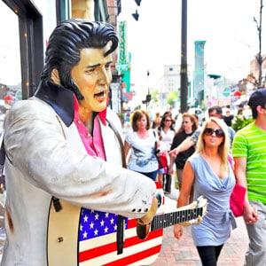 concert tour of Nashville and Memphis