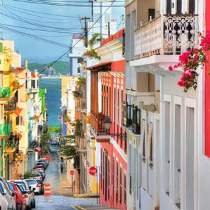 Concert tour of Puerto Rico