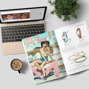 Hippie Chic Magazine Layout