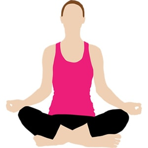 Yoga Class available at Sober House