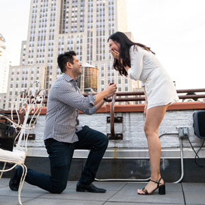 Proposal Photographer in NYC