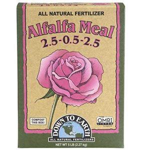 Earth Organic Alfalfa Best Organic Fertilizer For Healthy Plant