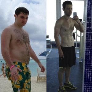 Eugene Katchalov before and after