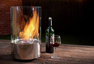 Sharper Image, Round Tabletop Fire Pit
