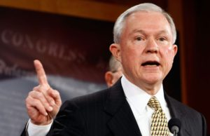 Portland Attorney General Jeff Sessions Urges Strict Drug Penalties