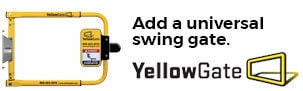 Yellow Gate Safety Gate promo