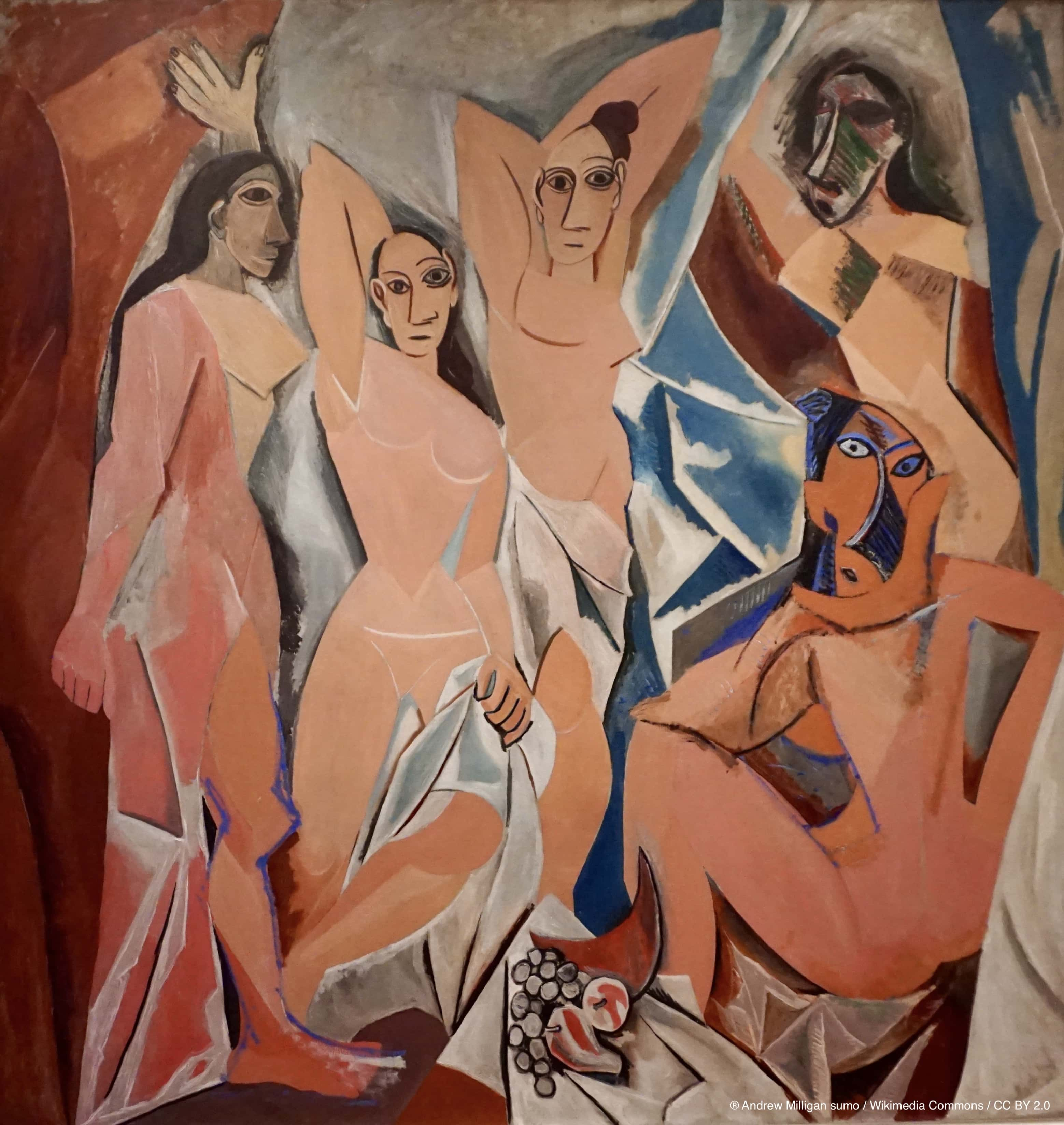 Die Damen von Avignon, Pablo Picasso