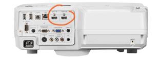 NEC Video Projector Connectics