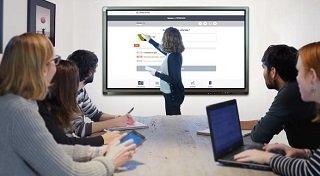 hotspot de l'écran interactif