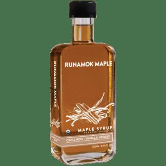 Cinnamon Vanilla Infused Maple Syrup by Runamok Maple