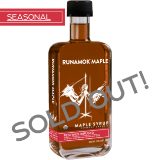 Festivus Infused Maple Syrup by Runamok Maple