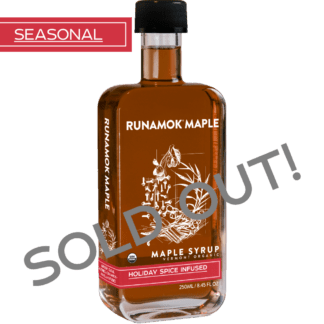 Holiday Spice Infused Maple Syrup by Runamok Maple