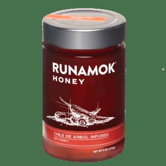 Chile de Arbol Infused Honey by Runamok