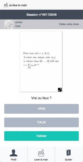 Question illustrée par un document (formule mathématique)