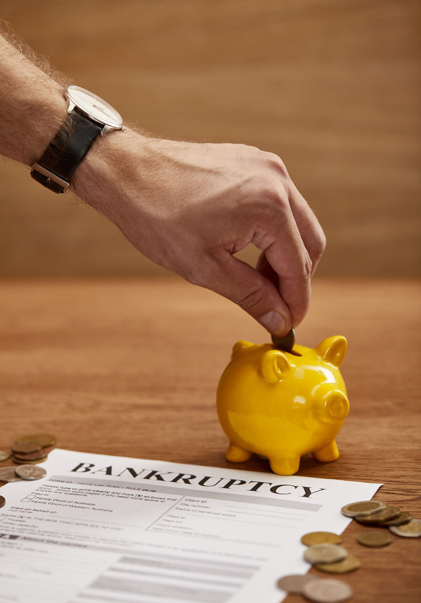 saving money for chapter 11 bankruptcy filing