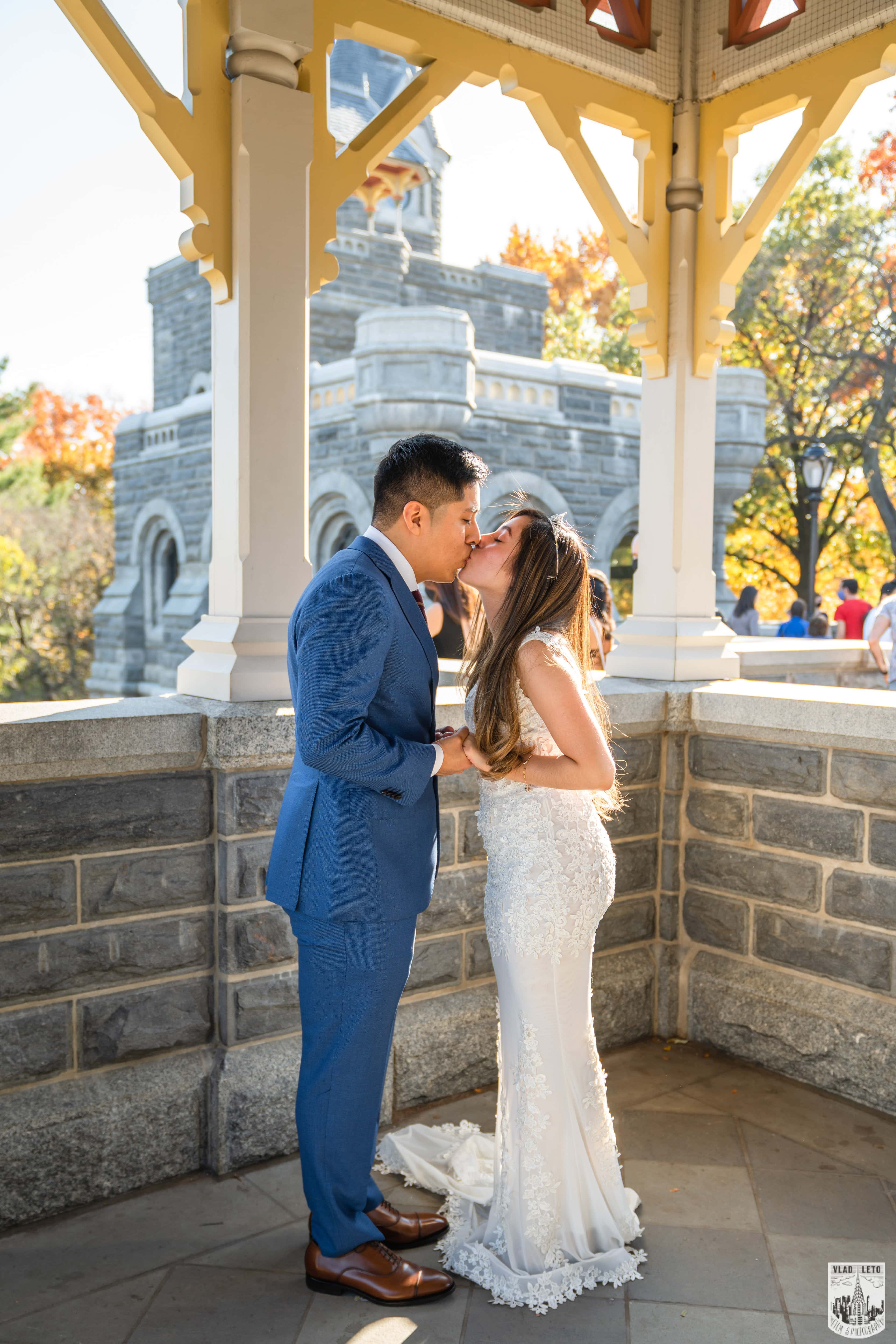 Photo 13 Francisco and Maria wedding ceremony at the Belvedere Castle
