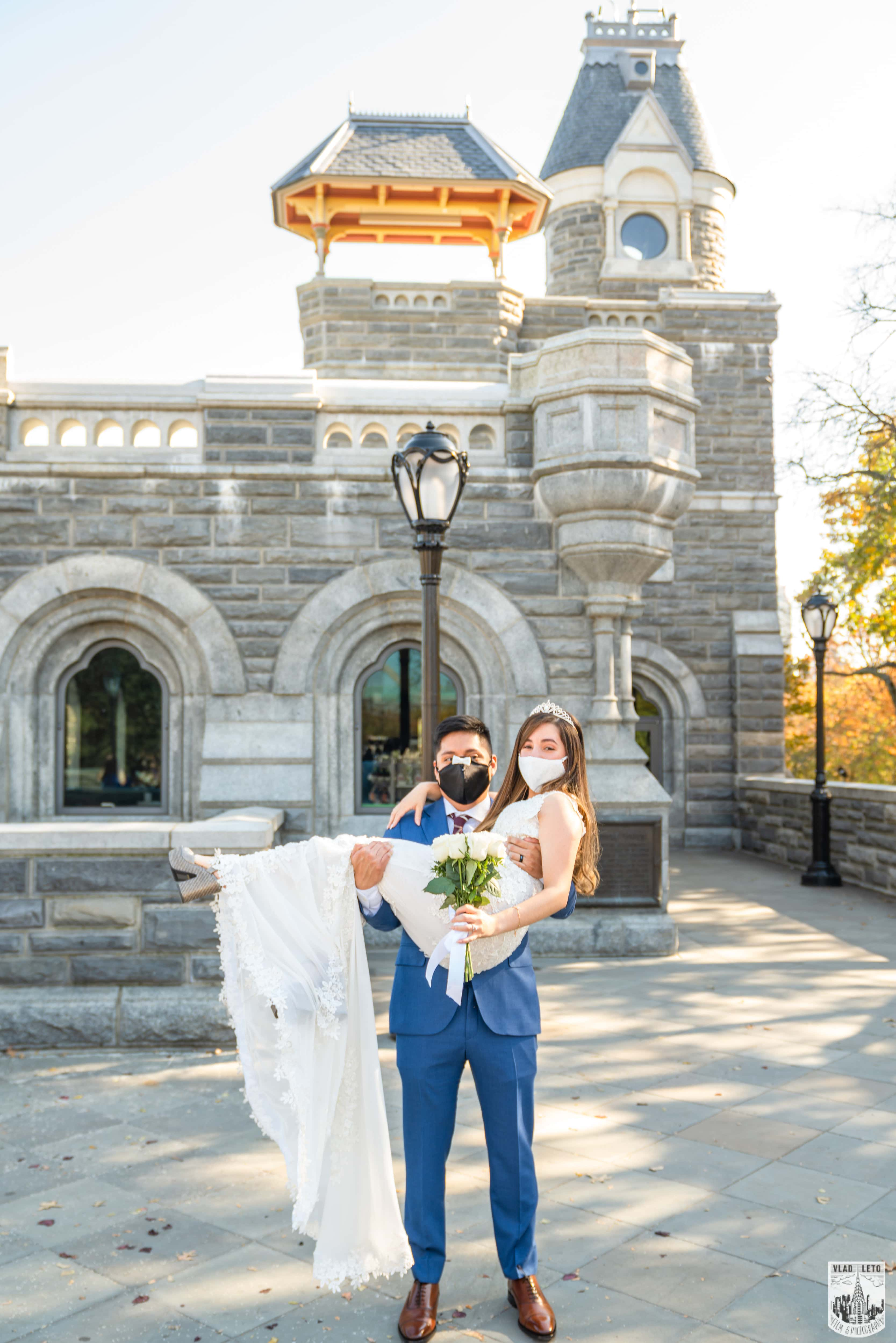 Photo 17 Francisco and Maria wedding ceremony at the Belvedere Castle