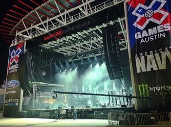X Games Music Stage - Austin 360 Amphitheater