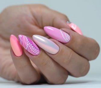 pastelowe lakiery hybrydowe do paznokci