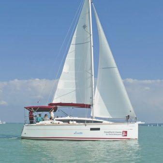 Jeanneau Sun Odyssey 319 túrahajó bérlés Balaton | Füredyacht Charter