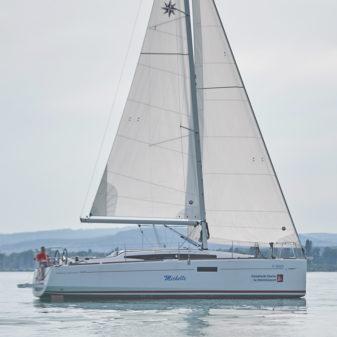 Jeanneau Sun Odyssey 349 túrahajó bérlés Balaton | Füredyacht Charter