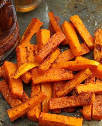 Maple squash fries by Runamok Maple