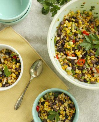 Corn and Bean Salad by Runamok Maple