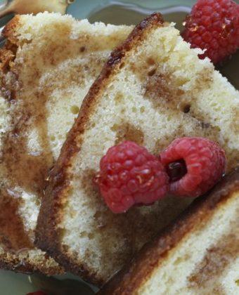 Maple Syrup Pound Cake by Runamok Maple